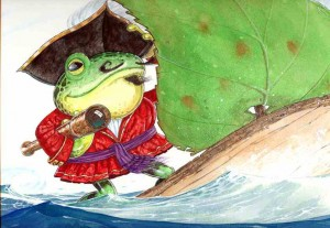 pirate froggie